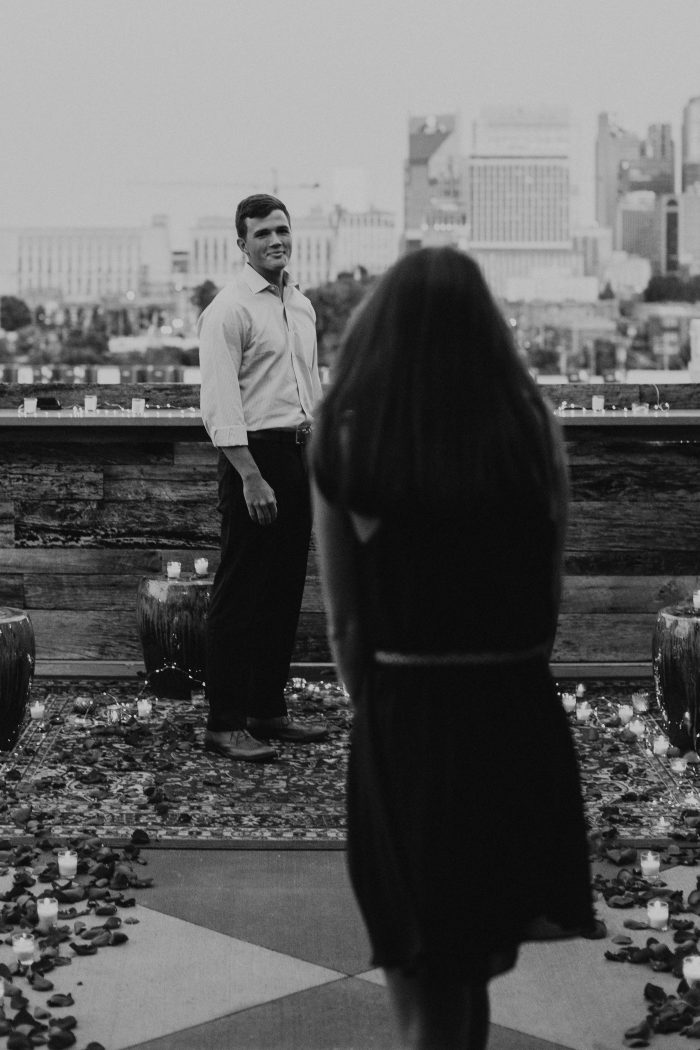 Julia and Cooper's Engagement in Nashville, Tennessee