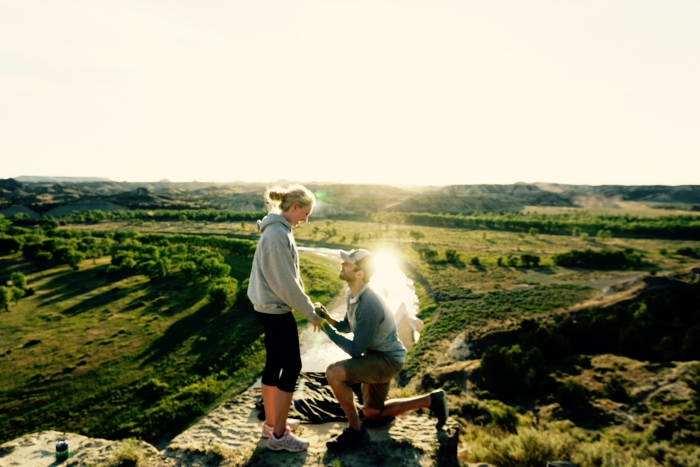Wedding Proposal Ideas in Medora, ND