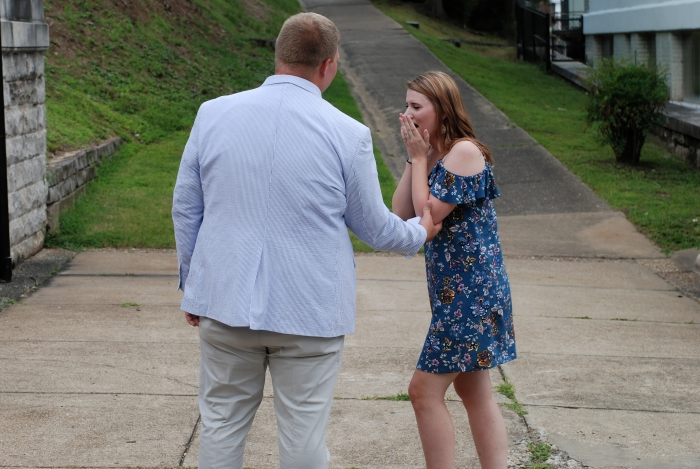 Marriage Proposal Ideas in Grand Promenade, Hot Springs, AR