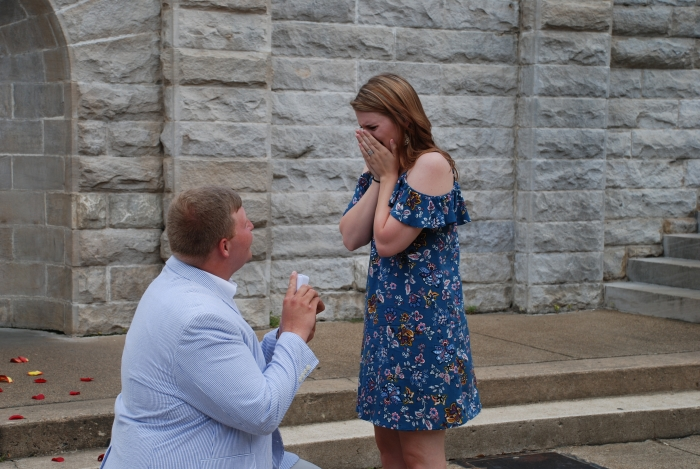 Bethany and Dillan's Engagement in Grand Promenade, Hot Springs, AR