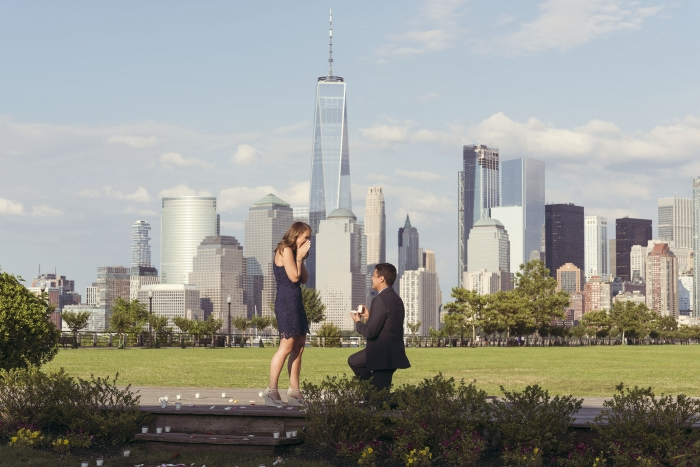 Ashley's Proposal in Jersey City, NJ