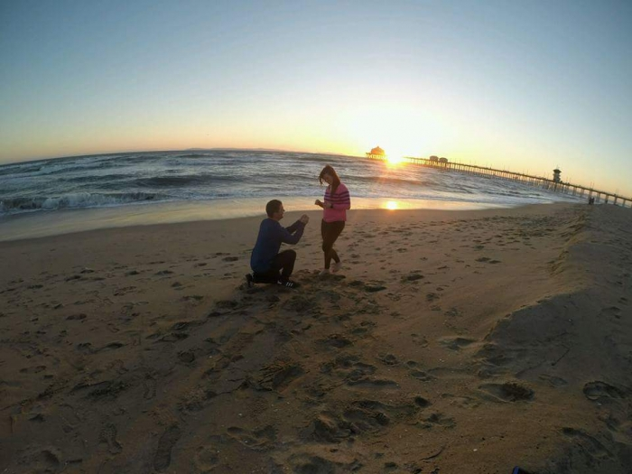 Kendra's Proposal in Huntington Beach, California