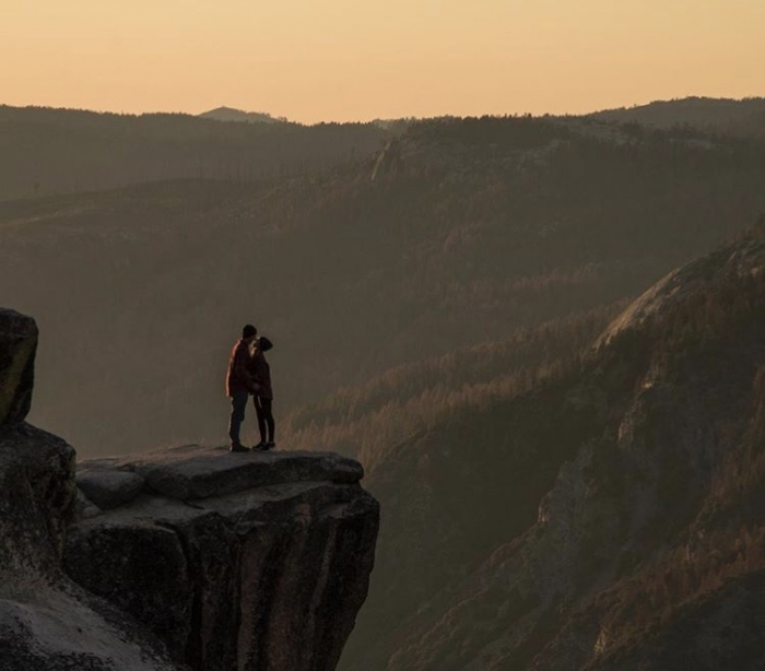 Engagement Proposal Ideas in Zion National Park -Angels landing