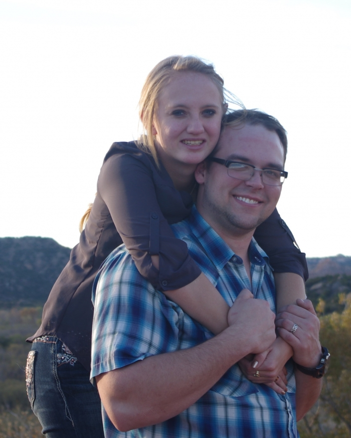 Angela and Jered's Engagement in Palo Duro Canyon, Canyon, TX