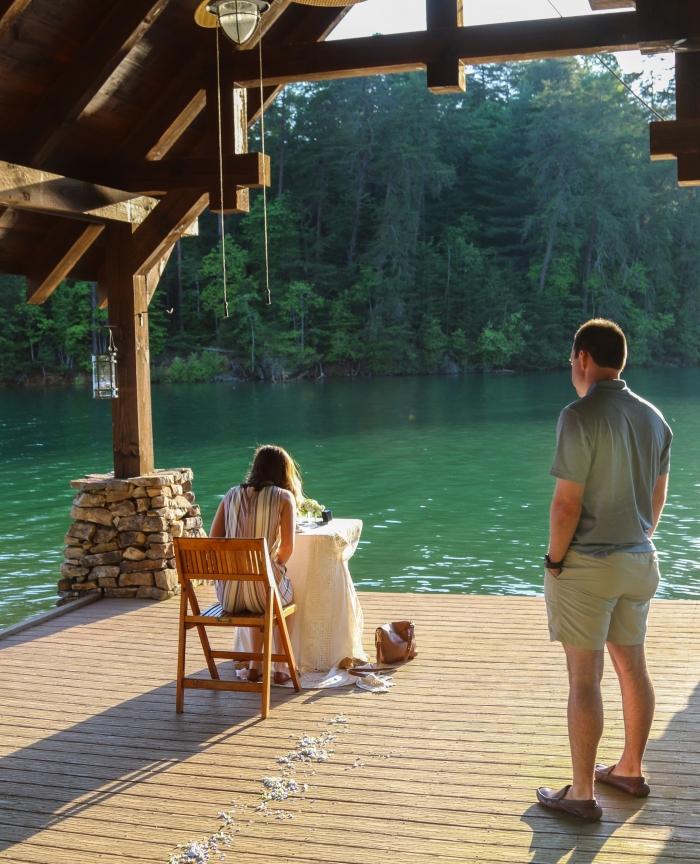 Wedding Proposal Ideas in Blue Ridge, GA
