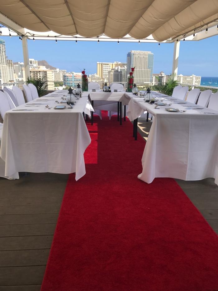 Where to Propose in Double Tree Hotel, Waikiki Hawaii