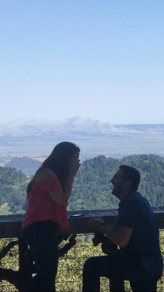 Marriage Proposal Ideas in Napa Valley, CA