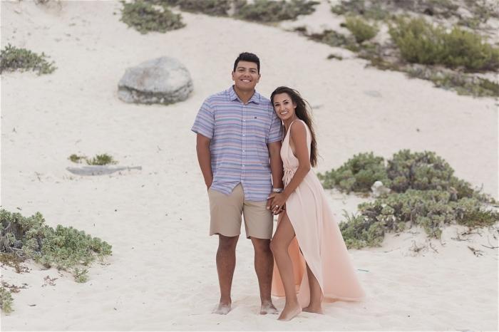 Joshua's Proposal in Cancun, Mexico