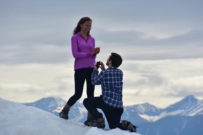 Marriage Proposal Ideas in Kennecott, Alaska in Wrangell-St. Elias National Park