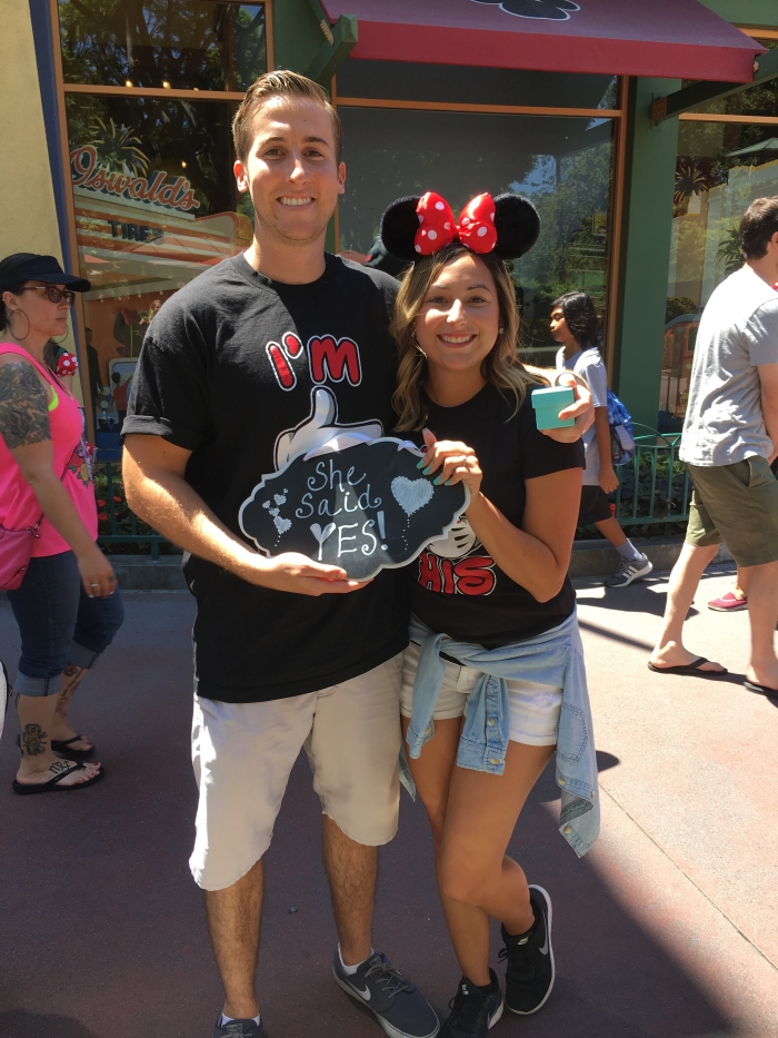 Marriage Proposal Ideas in Downtown Disney