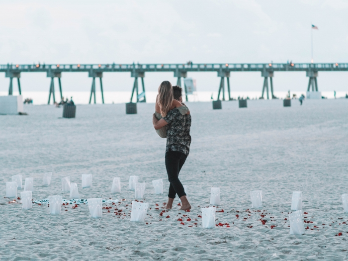 Katie's Proposal in Panama City Beach