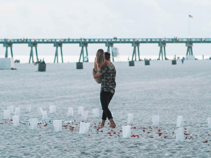 Katie's Proposal in Panama City Beach