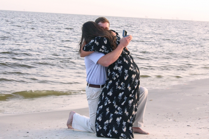 Engagement Proposal Ideas in Dauphin Island, Alabama