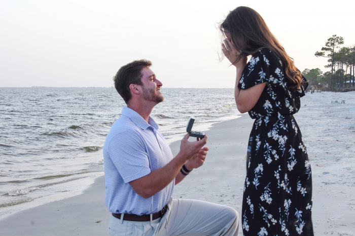 Marriage Proposal Ideas in Dauphin Island, Alabama