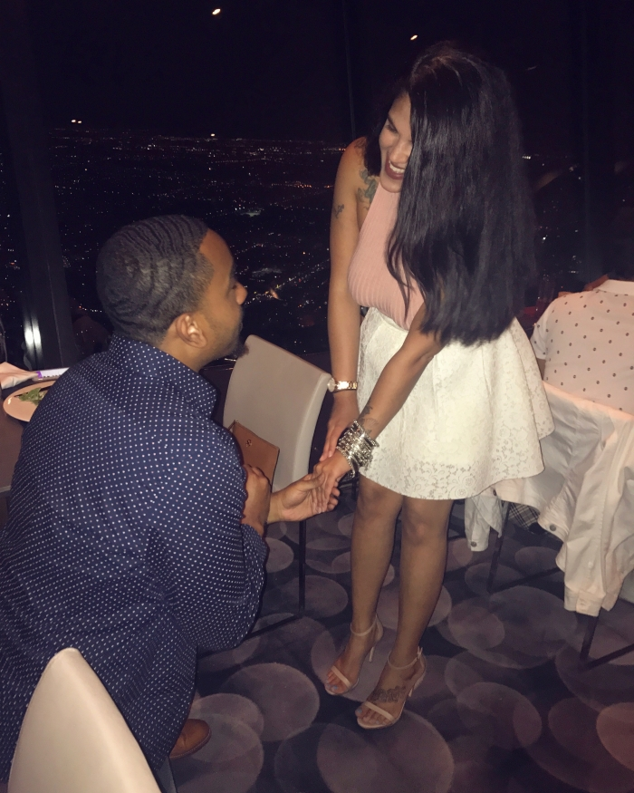 Engagement Proposal Ideas in CN Tower Toronto Canada