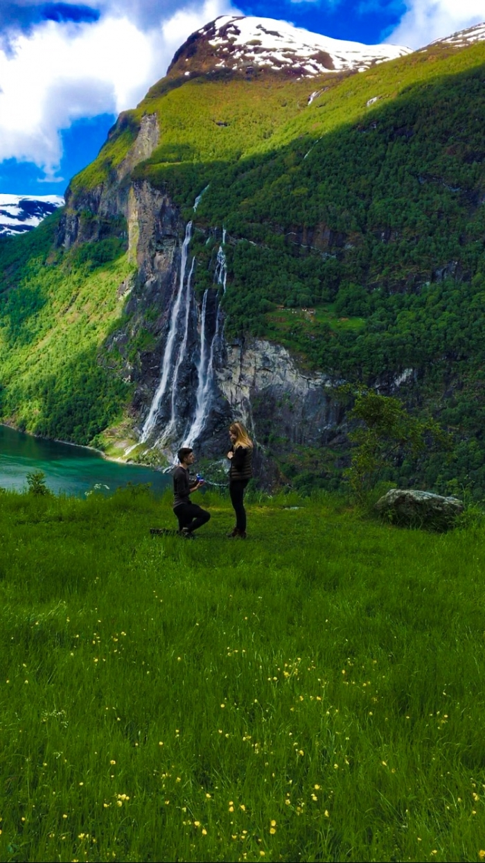 Wedding Proposal Ideas in Norway