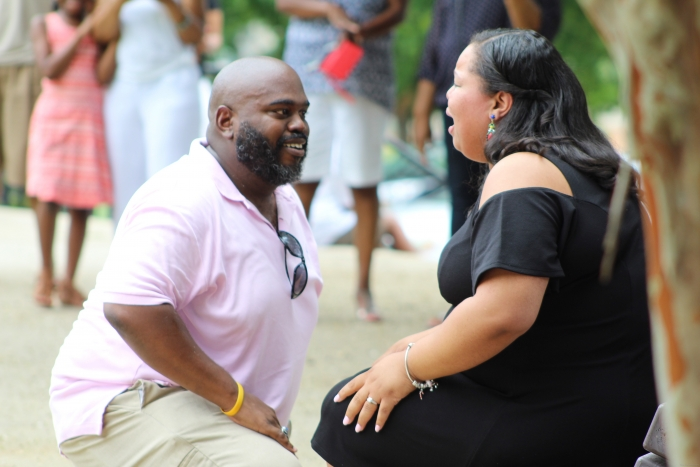 Marriage Proposal Ideas in Deshon Park, Stone Mountain, Ga.