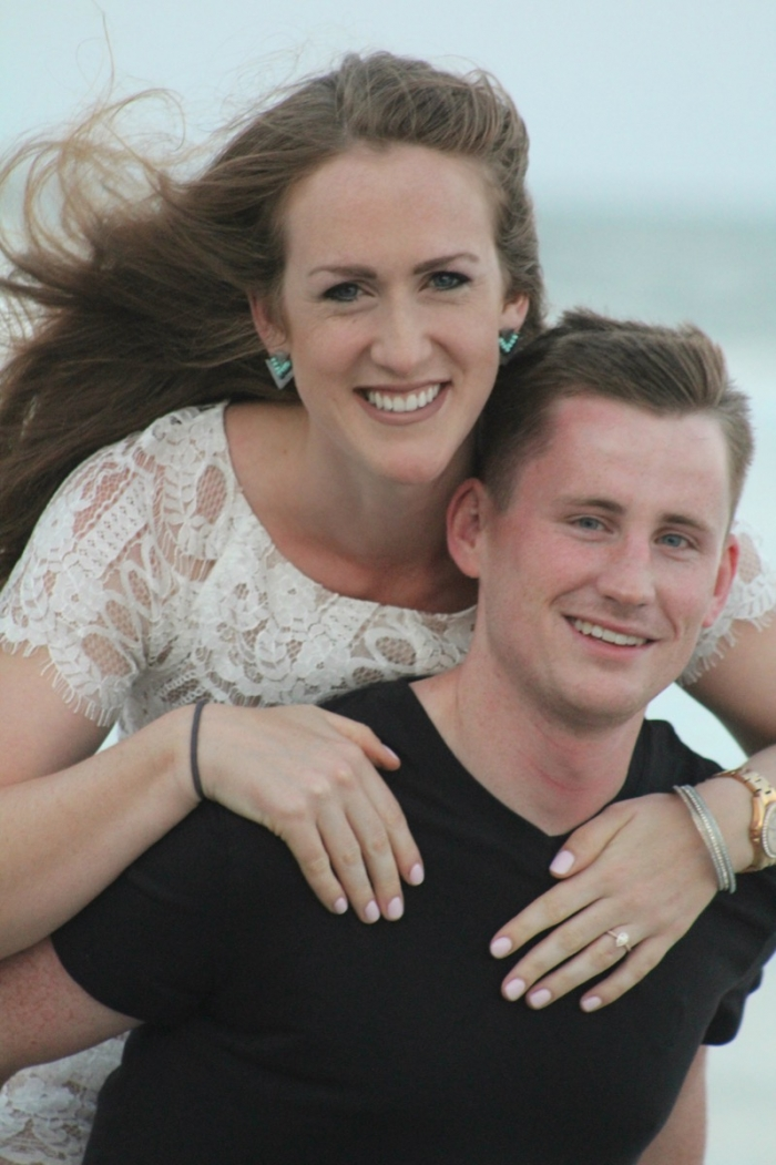 Emily's Proposal in Topsail Island, NC