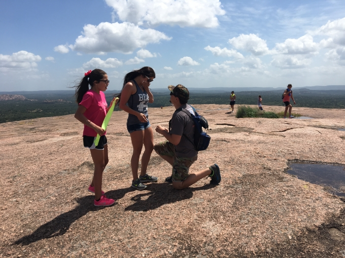 Wedding Proposal Ideas in Enchanted Rock