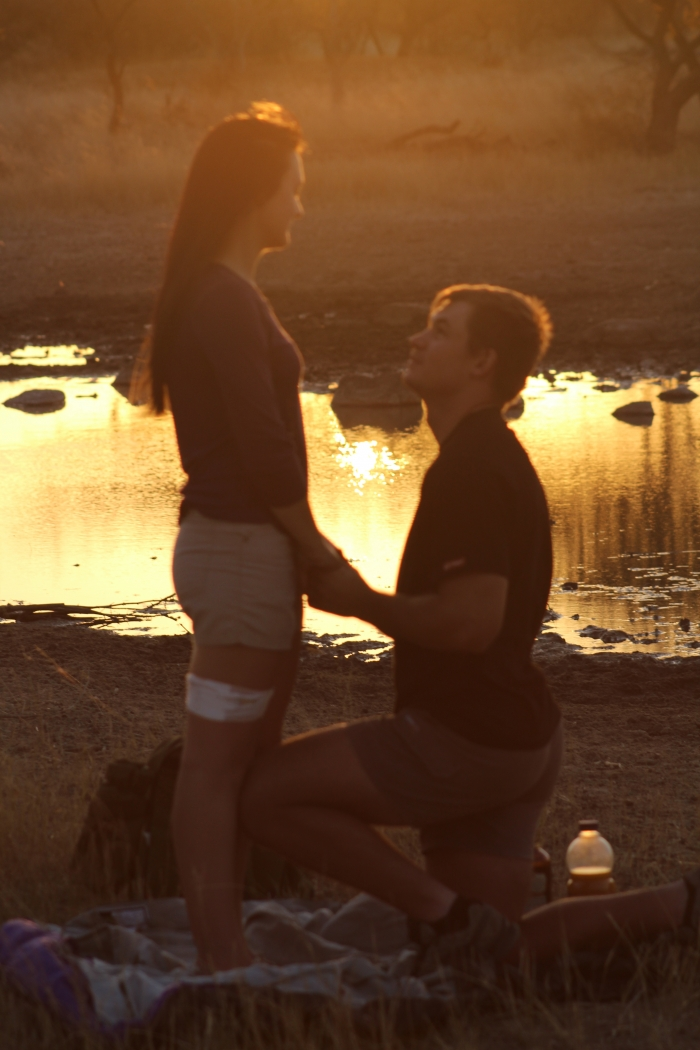 Marriage Proposal Ideas in On the family game farm