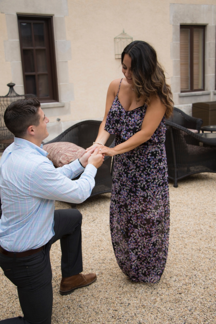 Engagement Proposal Ideas in Oheka Castle