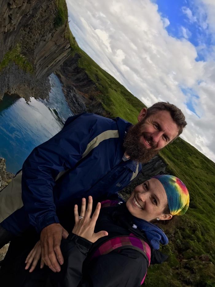 Rachel's Proposal in Iceland