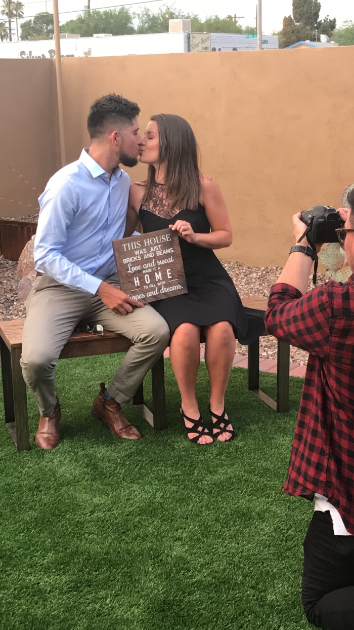 Marriage Proposal Ideas in Our new house in Tucson, AZ