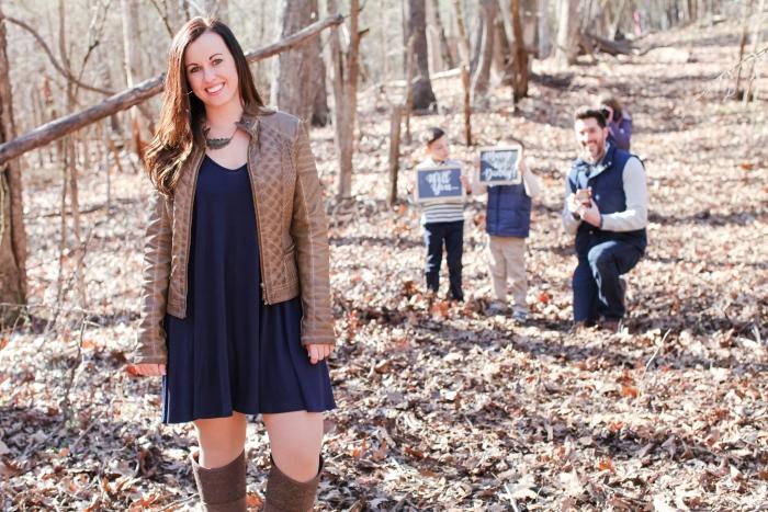 Samantha's Proposal in Troutville Va