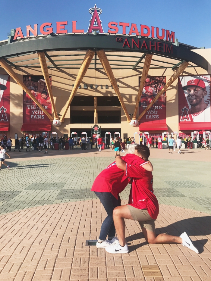 Where to Propose in Angel Stadium of Anaheim