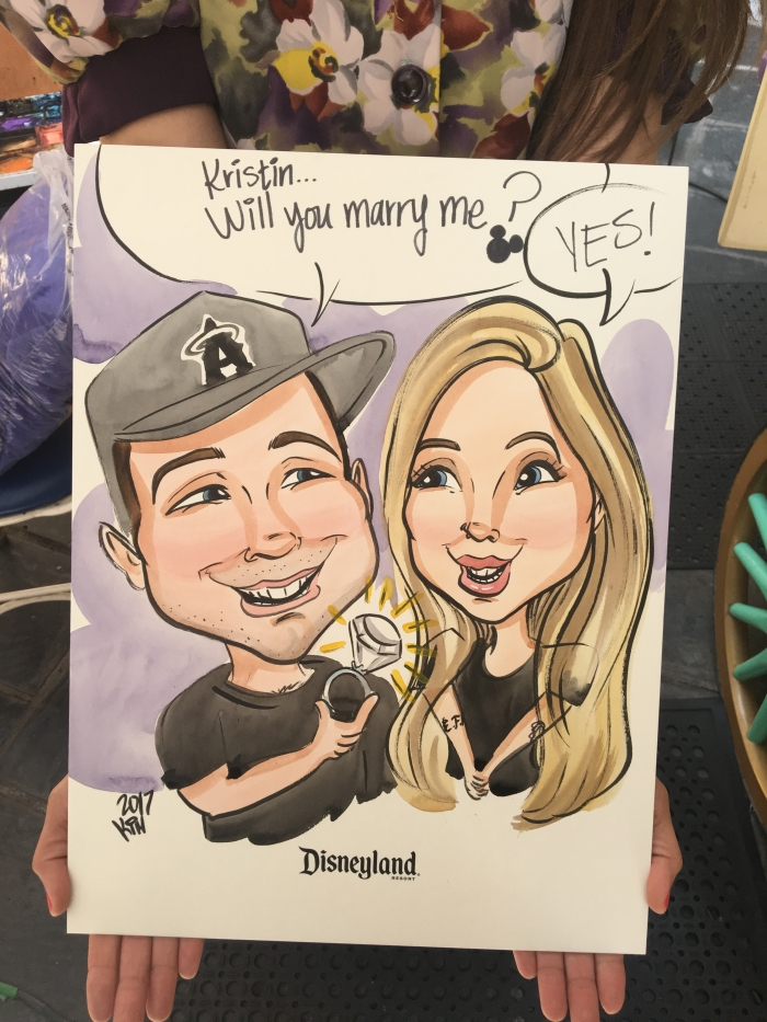 Engagement Proposal Ideas in Disneyland