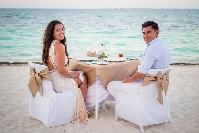 Engagement Proposal Ideas in Playa Mujeres, Mexico
