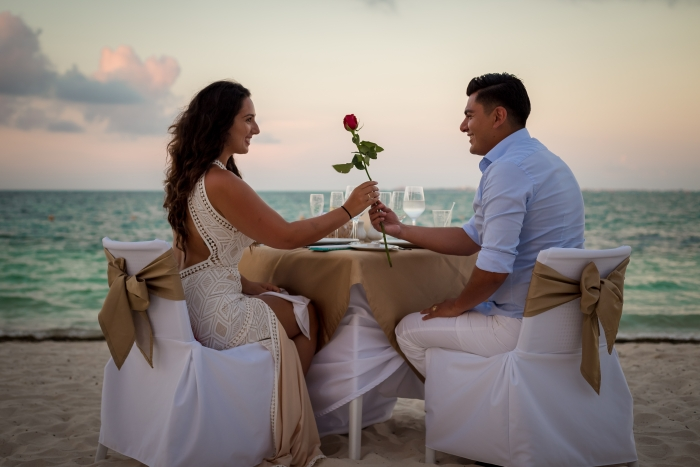 Wedding Proposal Ideas in Playa Mujeres, Mexico