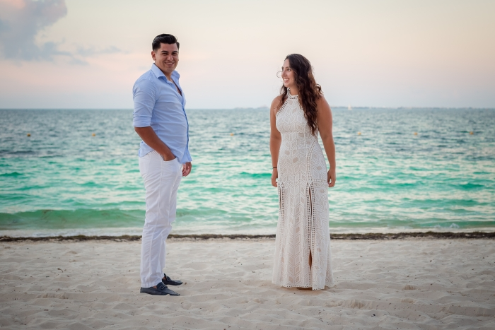 Marriage Proposal Ideas in Playa Mujeres, Mexico