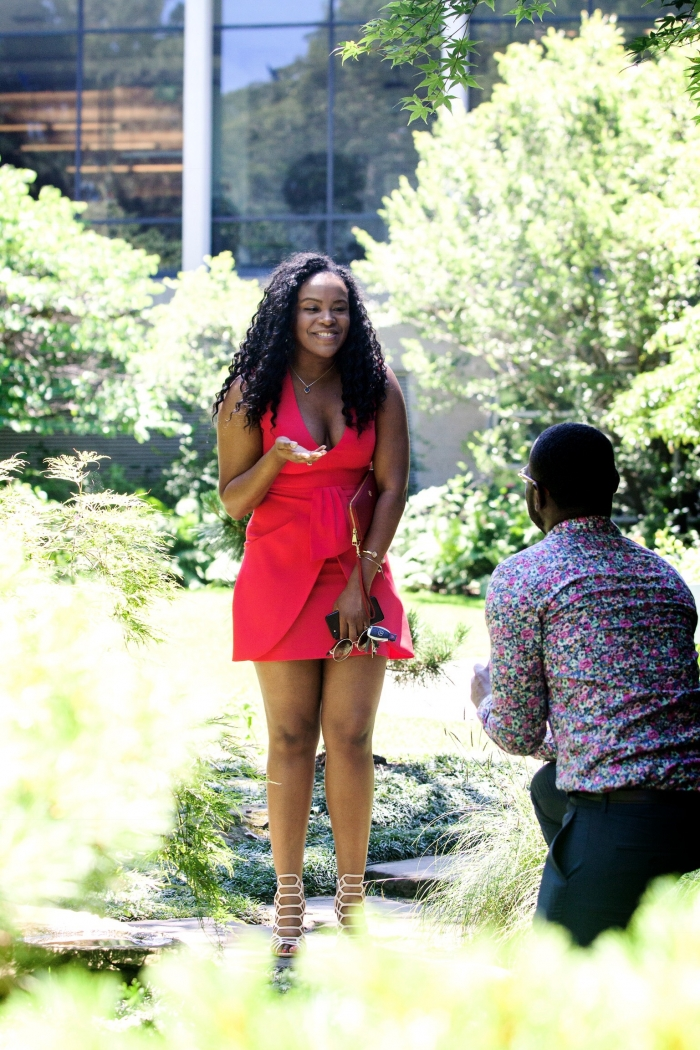 Ashley's Proposal in Cleveland Botanical Gardens