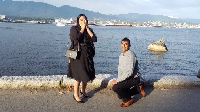 Wedding Proposal Ideas in Stanley Park