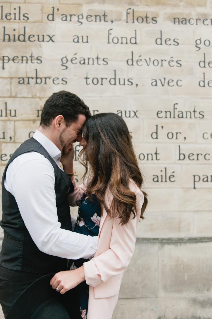Naomi's Proposal in Paris, France