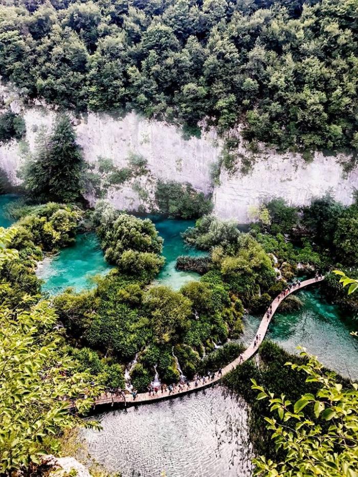 Nisha and Vivek's Engagement in Plitviče Lakes National Park, Croatia