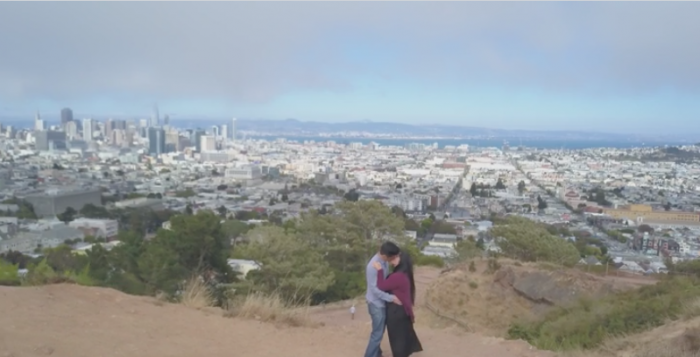 Jillian's Proposal in Corona Heights Park, San Francisco, CA