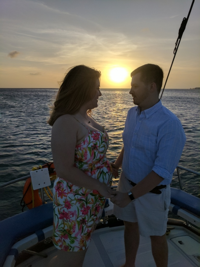 Proposal Ideas On a Private Chartered Sailboat (the Morning Star) in Aruba