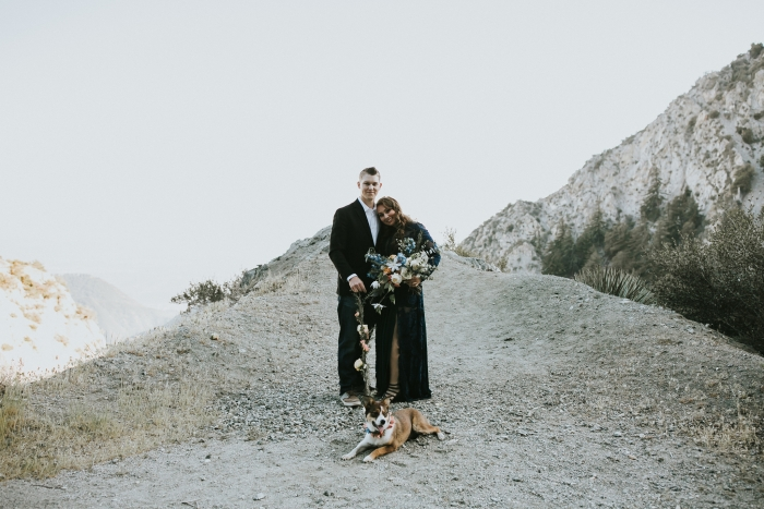 Wedding Proposal Ideas in Los Angeles Crest Mountains