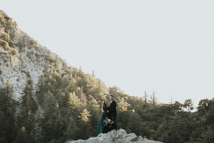 Brittney and Ted's Engagement in Los Angeles Crest Mountains
