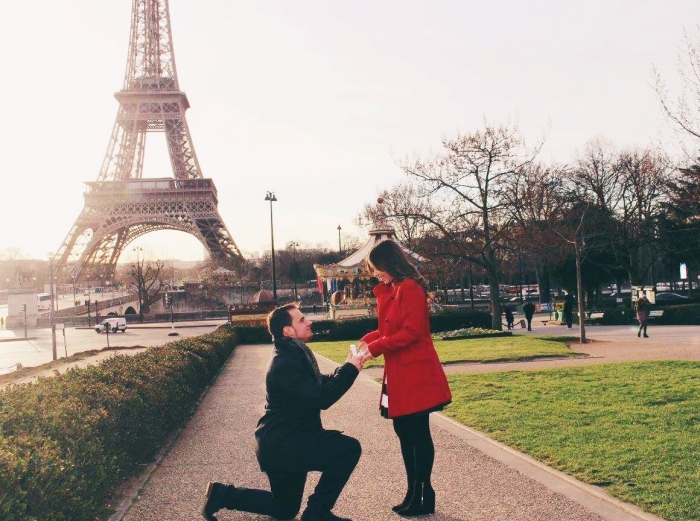 Engagement Proposal Ideas in Paris, France