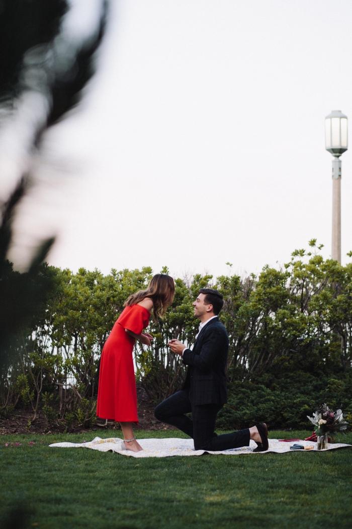 Mitzi's Proposal in Loyola University Chicago