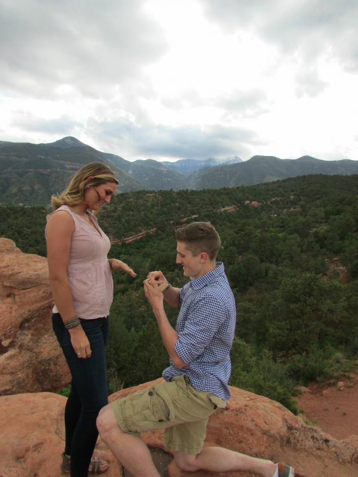 Where to Propose in Garden of the Gods in Coloraod