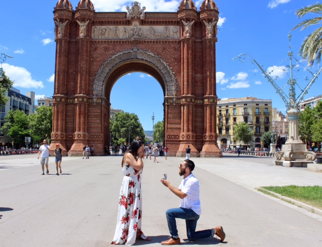 Marriage Proposal Ideas in Barcelona, Spain