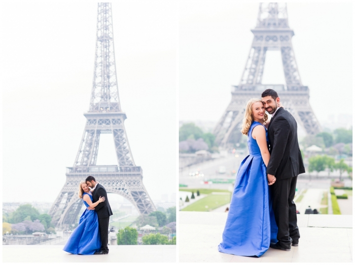 Shelby's Proposal in Paris, France