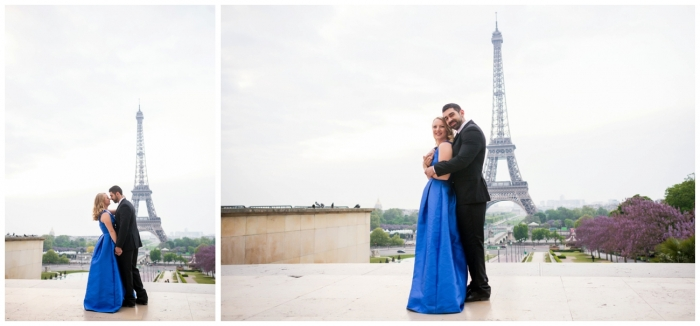 Shelby and David's Engagement in Paris, France
