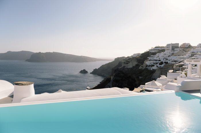 Bobby's Proposal in Santorini island, Greece
