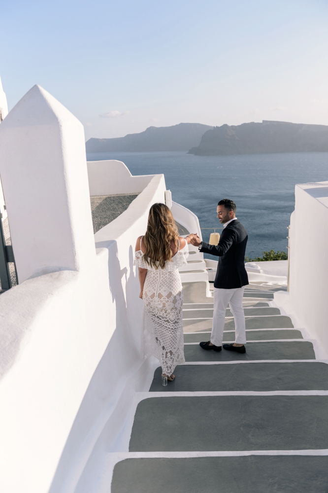 Bobby and Sheida's Engagement in Santorini island, Greece