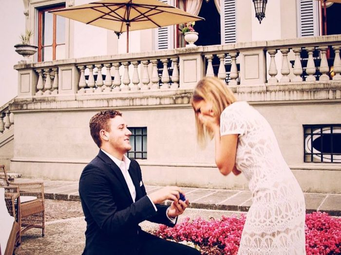 Wedding Proposal Ideas in Florence, Italy- Villa Cora